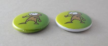 25mm Buttons mit Beschnitt