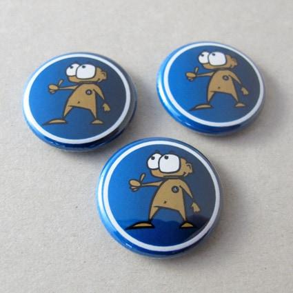 25mm Buttons mit Kreis
