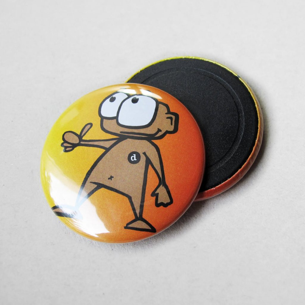 37mm Buttons Magnet